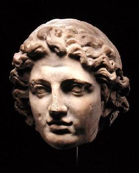 Colossal Head of Alexander the Great (356-323 BC)