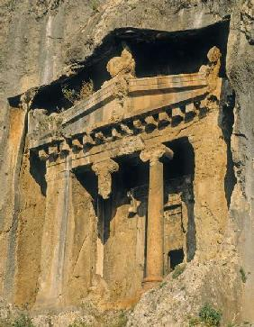 Lycian rock tomb (photo)