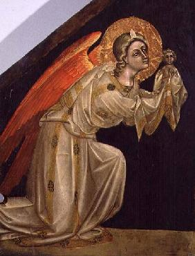The Archangel Michael (tempera on panel)
