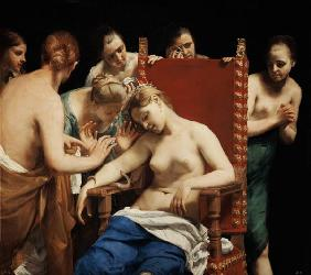 Cagnacci, Guido : The Death of Cleopatra