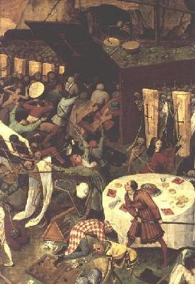 The Triumph of Death, detail of the lower right section