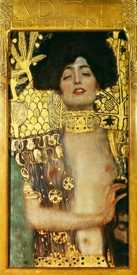 Judith - Gustav Klimt as art print or hand painted oil.