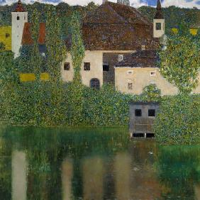 Klimt, Gustav : Schloss Kammer on the Atte...