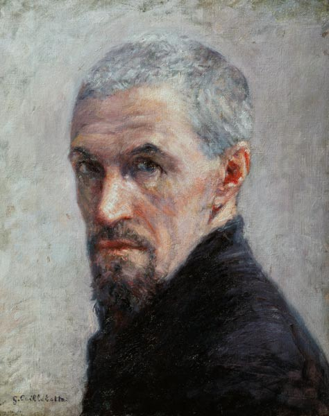 Self-portrait of Gustave Caillebotte