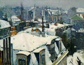 Rooftops under Snow 1867