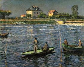 Fishing boats on the Seine