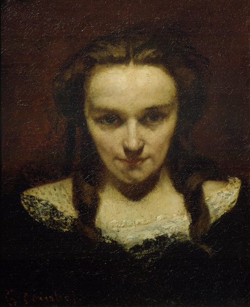 The Somnambulist Gustave Courbet As Art Print Or Hand