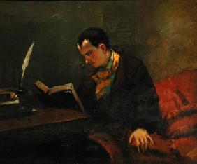 Portrait of Charles Baudelaire (1821-67)