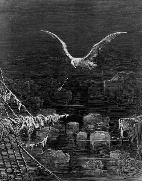 The albatross is shot the Mariner, scene from ''The Rime of the Ancient Mariner''S.T. Coleridge, S.T