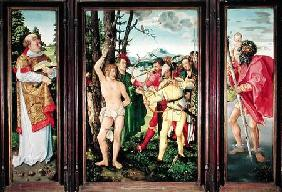 Baldung Grien, Hans : Altarpiece of the Martyrdo...