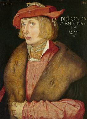 Baldung Grien, Hans : Portrait of the count pala...