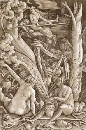 Baldung Grien, Hans : The witches