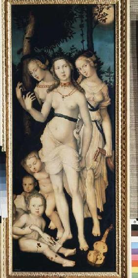 Baldung Grien, Hans : The three graces