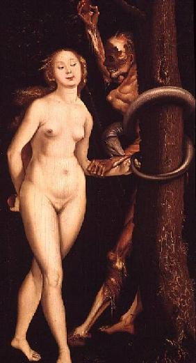 Baldung Grien, Hans : Eve, the Serpent and Death