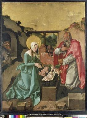 Baldung Grien, Hans : The birth Christi.