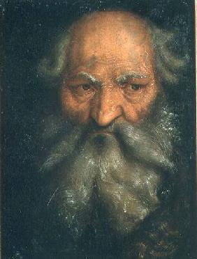 Baldung Grien, Hans : Head of an Old Man