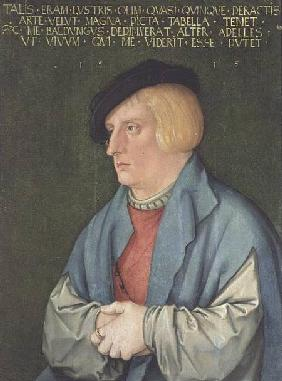 Baldung Grien, Hans : Portrait of a young man