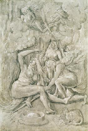 Baldung Grien, Hans : The Witches' Sabbath