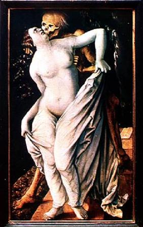 Baldung Grien, Hans : Woman and Death
