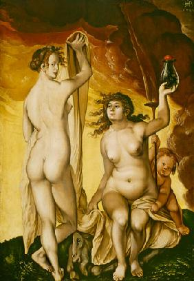 Baldung Grien, Hans : Two weather witches