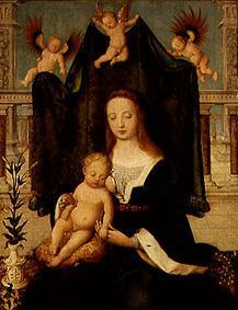 Mother of God with child (on the balcony)