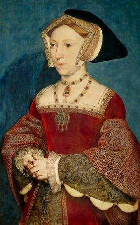 Holbein the Younger, Hans : Jane Seymour, queen of Eng...