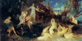 The Hunt of Diana (Study)