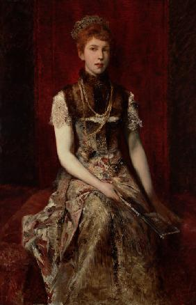 Portrait of Dora Fournier-Gabillon