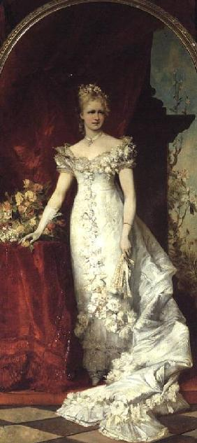 Crown Princess Stephanie of Belgium consort to Crown Prince Rudolf of Austria (1858-89)