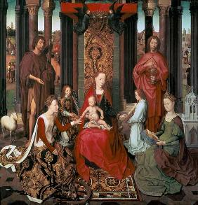 Mystic Marriage of St. Catherine and Other Saints