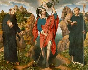 St. Christopher (The Moreel Triptych)