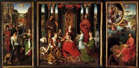Triptych of the Mystical Marriage of Saint Catherine