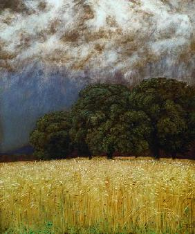 Hans Thoma / Silence before Storm