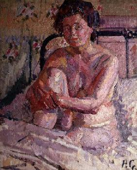 Gilman, Harold : Nude on a Bed