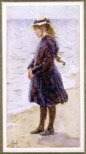 Portrait of a Girl on a Beach