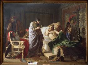 Confidence of Alexander the Great into his physician Philippos