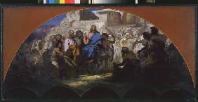 The Entry of Christ into Jerusalem