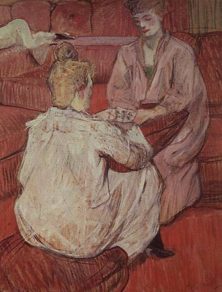 The Card Players Henri De ToulouseLautrec As Art Print Or Hand - Who painted the card players