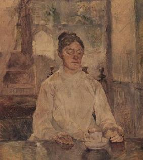 Portrait of the Artist's Mother at Breakfast, Malrome
