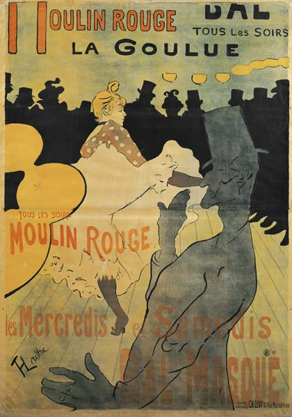 de Toulouse-Lautrec, Henri : Moulin-Rouge, La Goulue