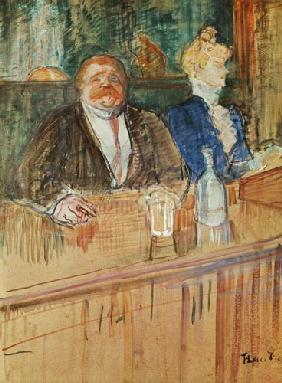 In the Bar: The Fat Proprietor and the Anaemic Cashier