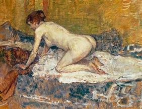 Red-Headed Nude Crouching
