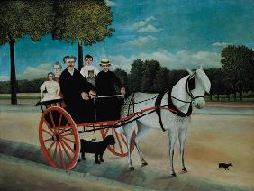 Rousseau, Henri Julien-F�lix : The carts of the old Junie...