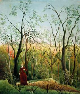 Rousseau, Henri Julien-F�lix : The Walk in the Forest