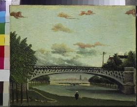 Rousseau, Henri Julien-F�lix : The bridge of Charenton