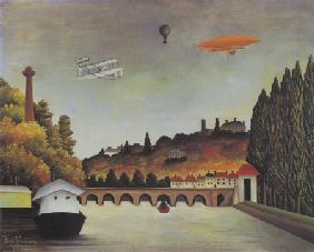 Rousseau, Henri Julien-F�lix : Bridge in S�vres