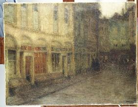 Square in Ypres, Dusk, c.1898