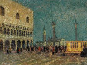 Venice, St. Mark''s Square, c.1914