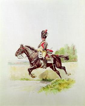 Soldier of the Imperial Guard on Horseback