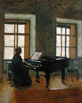 Masaryk, Herbert : At the piano